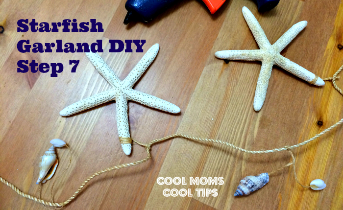Easy StarFish DIY Garland