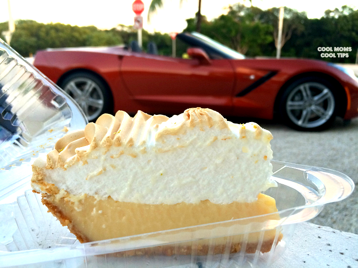 Corvette and Key Lime Pie