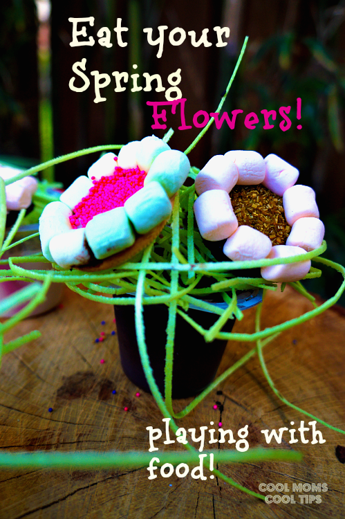 flower pudding cups cool moms cool tips #ad #spoonfuloffun