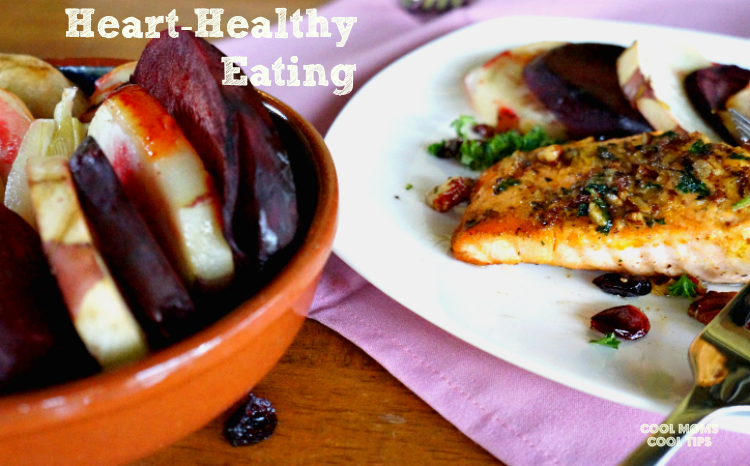 heart healthy eating recipes cool moms cool tips #ad