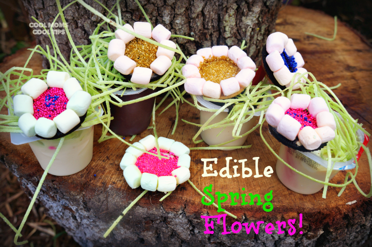 edible spring flowers cool moms cool tips diy food #ad #spoonfuloffun