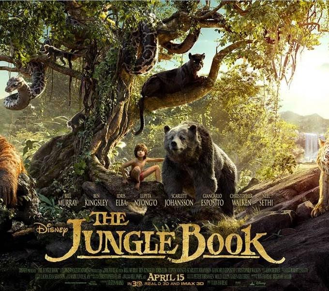 Disney Jungle Book FIRST Clip! #JungleBookEvent