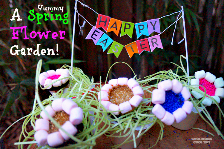 yummy spring flower garden cool moms cool tips #ad #spoonfuloffun