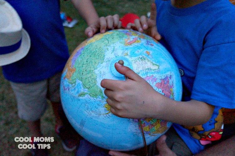 learning about countries #DisneyKids playdate cool moms cool tips