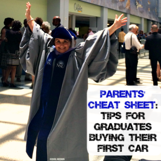 Parents Cheat Sheet-Tips For Graduates Buying Their First Car