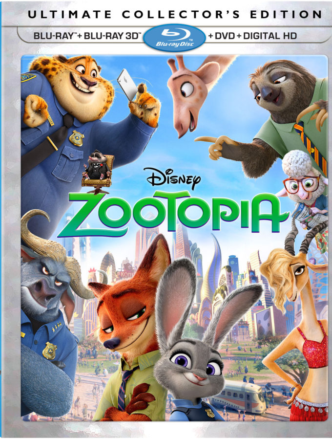 Zootopia Soon in Blu-Ray/ DVD Combo!