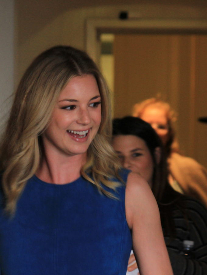 Girls Have An Exceptional Role Model in Emily VanCamp #CaptainAmericaEvent
