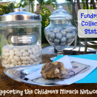 fundrasing collection station cool moms cool tips #ad