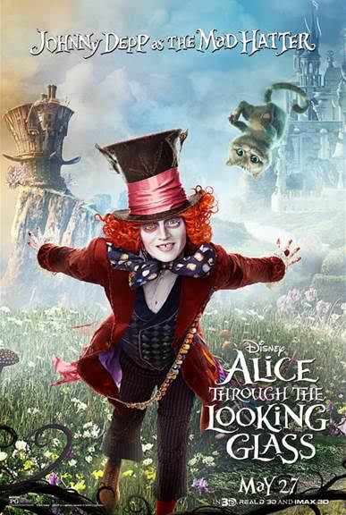 Don't Be Late To This Very Important VIP Alice Through The Looking Glass date! #ThroughTheLookingGlassEvent