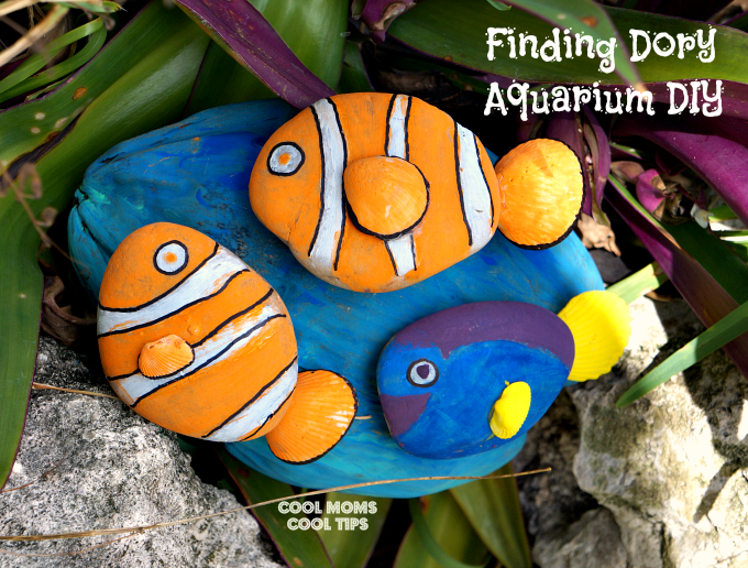 Finding Dory Movie Review and Aquarium DIY #FindingDoryEvent #FindingDory #HaveYouSeenHer #SpeakLikeAWhaleDay