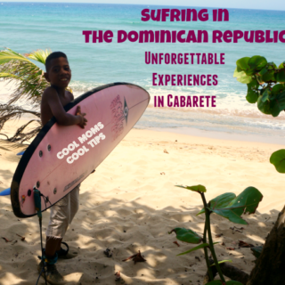 Surfing in Cabarete cool moms cool tip
