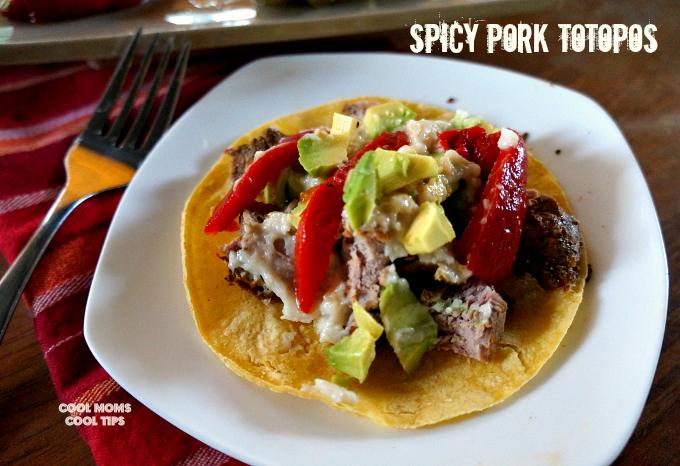Delicious Spicy Pork Totopos