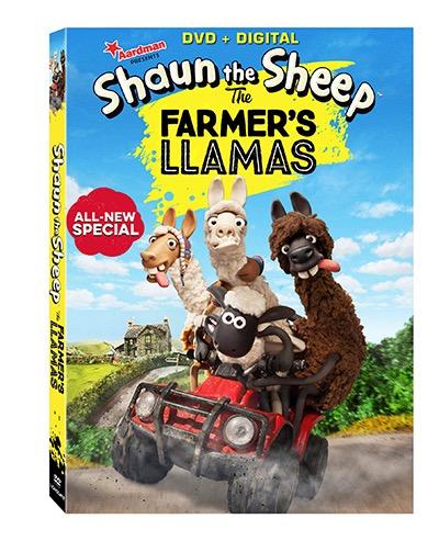 Now on DVD Shaun the Sheep: The Farmer's Llamas