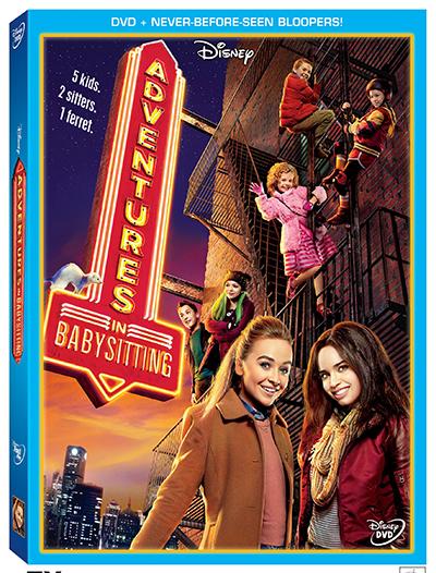 Disney's Adventures in Babysitting Now on DVD!