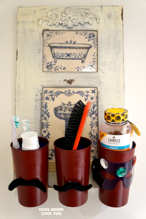 DIY Bathroom Caddy To Help Get The Kids Ready For The Day