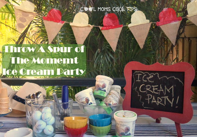 Throw An Easy Spur of the Moment Ice Cream Party #GolfFreezesOver $100 #Giveaway