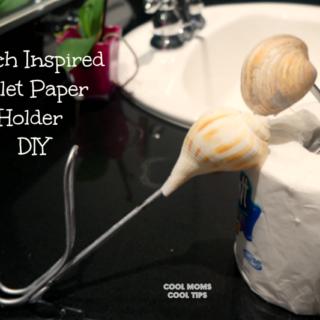 toilet paper holder DIY #scott100more #ad