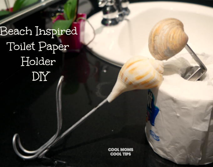 Beach Inspired Toilet Paper Holder DIY