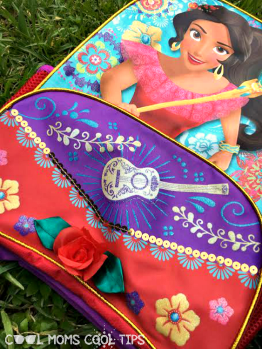 elena of avalor backpack details