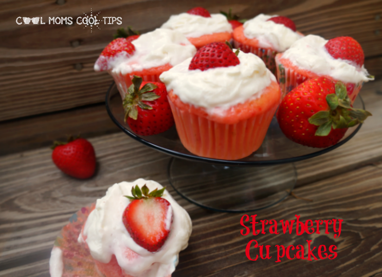 stawberry cupcakes for picky eaters cool moms cool tips