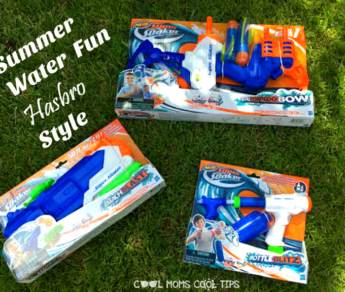 Summer Water Fun Hasbro Style #PlayLikeHasbro