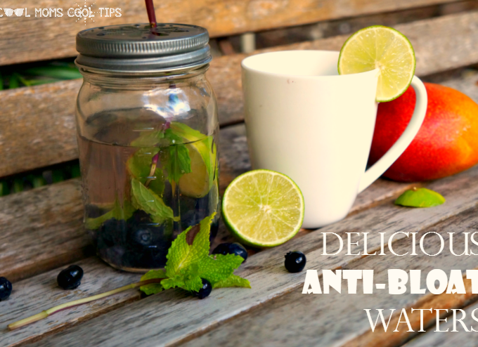 The Anti-Bloat Flavored Water Recipes