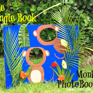 the jungle book monkey photo booth
