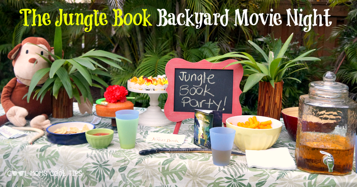 the jungle book movie night food station cool moms cool tips