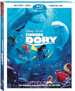 Swimming Down The Days to Disney•Pixar Finding Dory Out on digital HD & Disney Movies Anywhere on Oct 25th! #FindingDory
