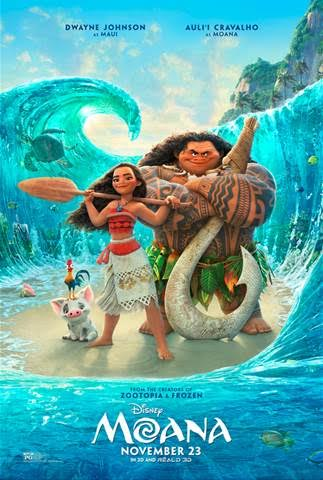 Just Released Disney's Moana Trailer! #Moana