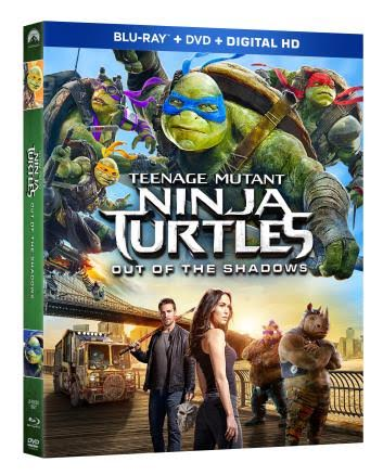 Teenage Mutant Ninja Turtles: Out of the Shadowsh All-New Adventure Arrives on Blu-ray™ Combo Pack and DVD -#Giveaway