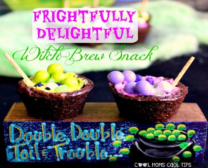 Frightfully Delightful Witch Brew Halloween Snack!