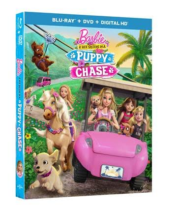 New Barbie Movie: Barbie™ & Her Sisters in Puppy Chase plus Giveaway
