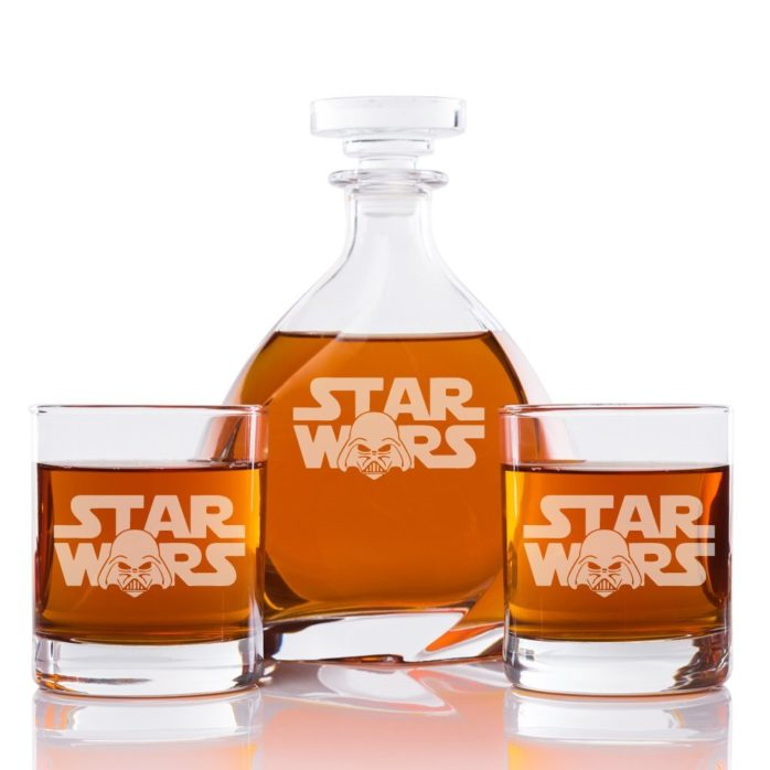 star wars decanter set