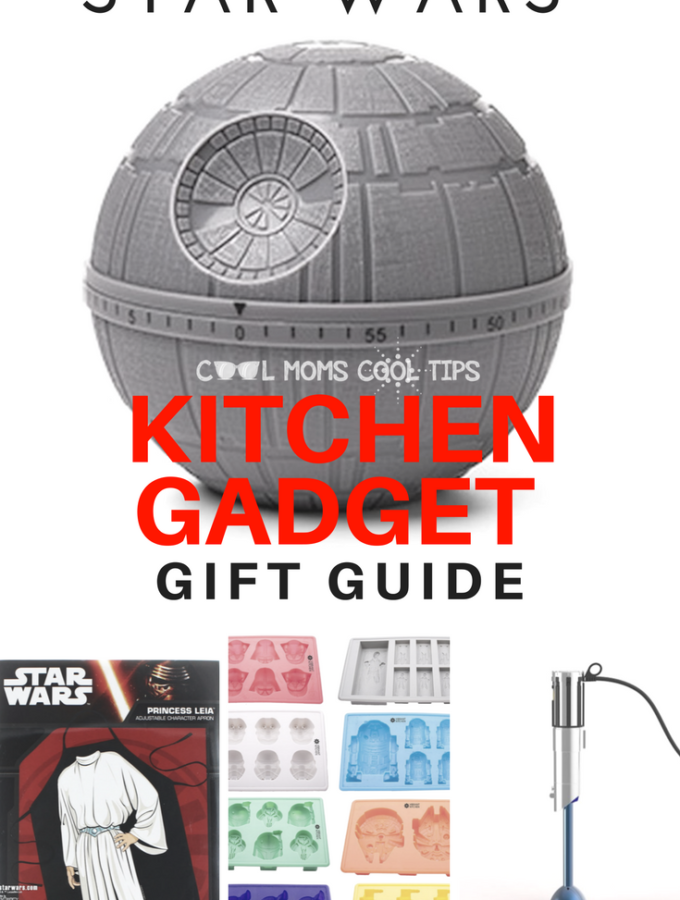 Be A Jedi in The Kitchen With Cool Star Wars Kitchen Gadgets -Gift Guide #starwarsgiftguide #starwars #rogueone