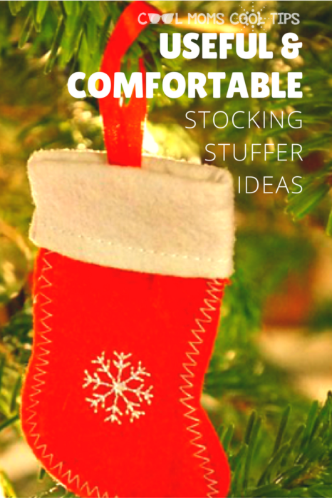With plenty of choices for everyone in your family, why not go for useful and comfortable items for your stocking stuffers this holiday season?  We share with you what we will do