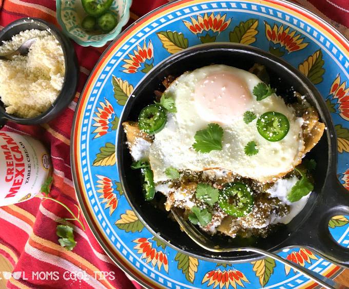 Easy Delicious Chilaquiles Recipe For Brunch and Breakfast