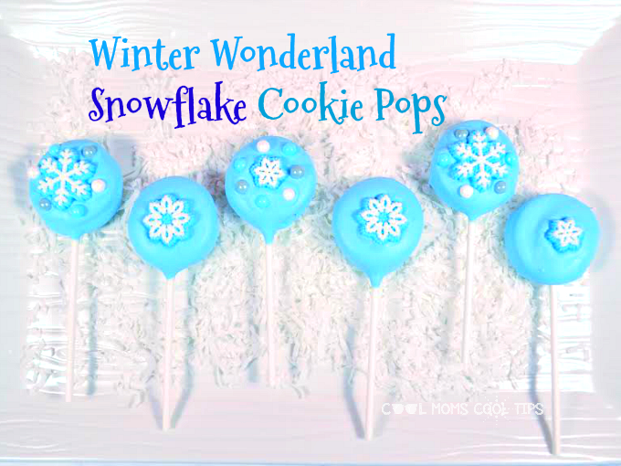 Winter Wonderland Snowflake Cookie Pops Recipe