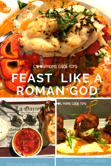 Want to feast like a roman god this holiday season? We have the menu for your plus a giveaway you won't want to miss out on!