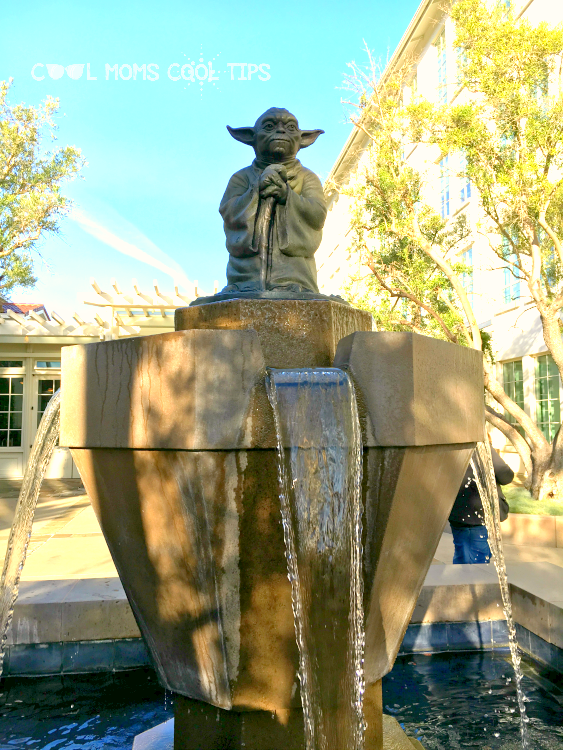 Yoda fountain cool moms cool tips