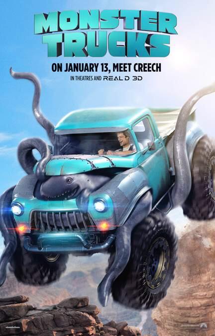 Monster Trucks Advance Screening Tickets!