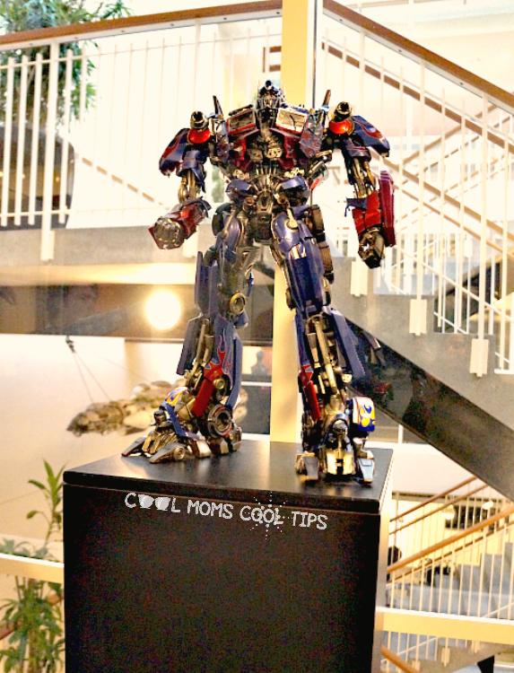 optimus prime transformer model at lucas film cool moms cool tips