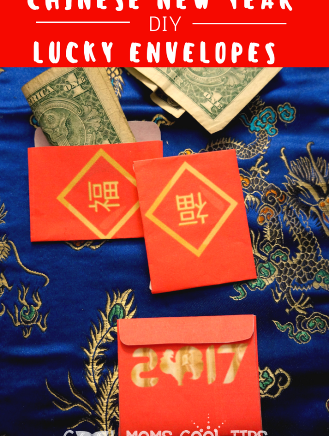 DIY Chinese New Year Lucky Envelopes plus printable