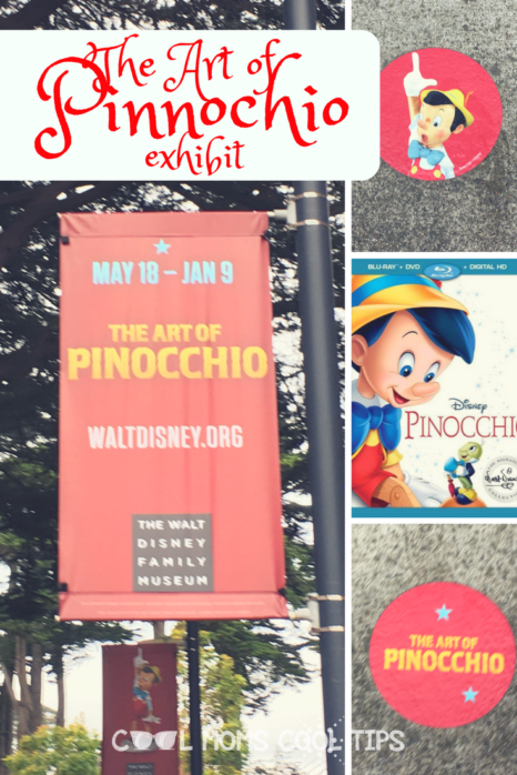 have you ever wondered what went on to create the Disney Classic Pinocchio?  We share with you about The Art of Pinocchio exhibit at the Walt Disney Family Museum