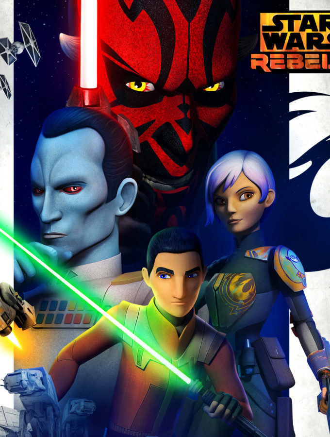 Star Wars Rebels Talk With Dave Filoni #RogueOneEvent #StarWarsRebels