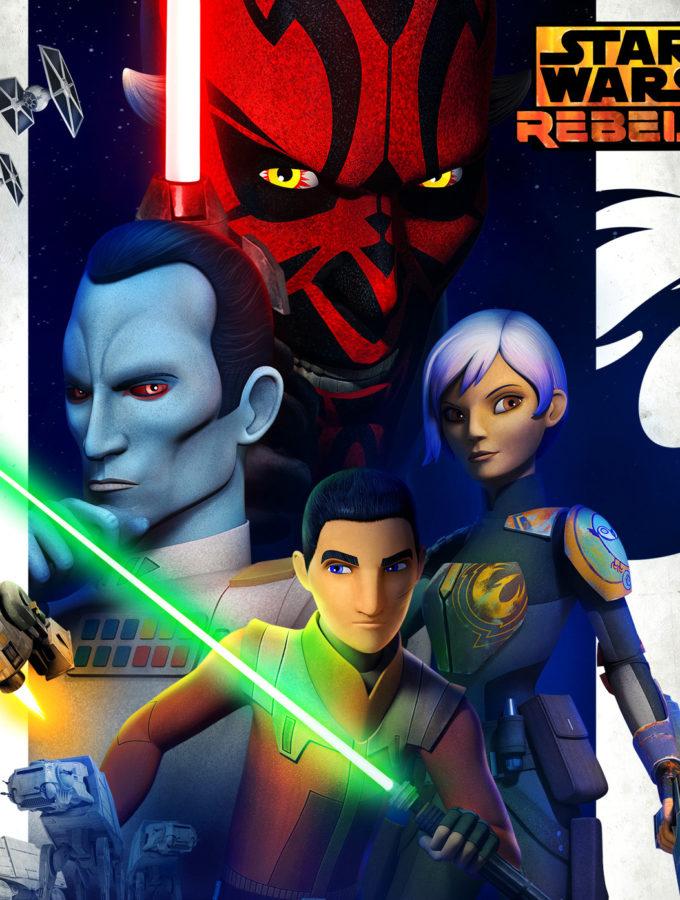 Star Wars Rebels Talk With Dave Filoni #RogueOneEvent #StarWarsRebels
