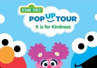 Sesame Street K is for knindness tour - cool moms coo ltips