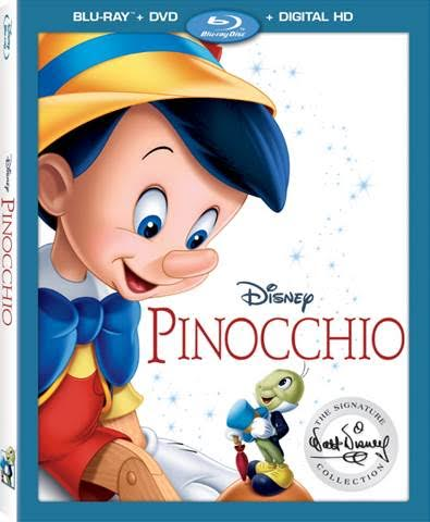 pinocchio bluray dvd