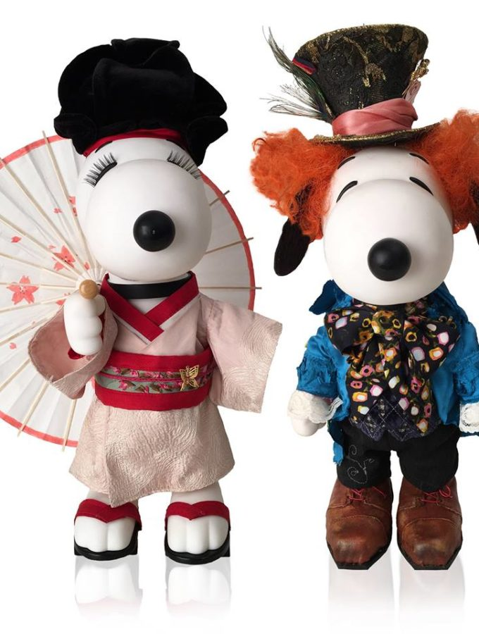 Snoopy and Belle In Fashion Traveling Exhibit #PeanutsAmbassador