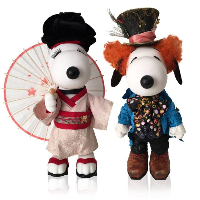Snoopy and Belle In Fashion Traveling Exhibi
